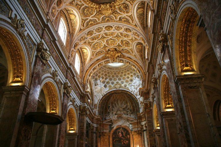 Inside San Luigi dei Francesi